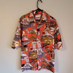 Men's Reyn Spooner San Francisco Giants shirt, L
